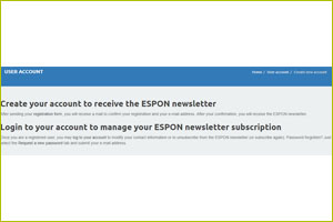 Newsletter ESPON