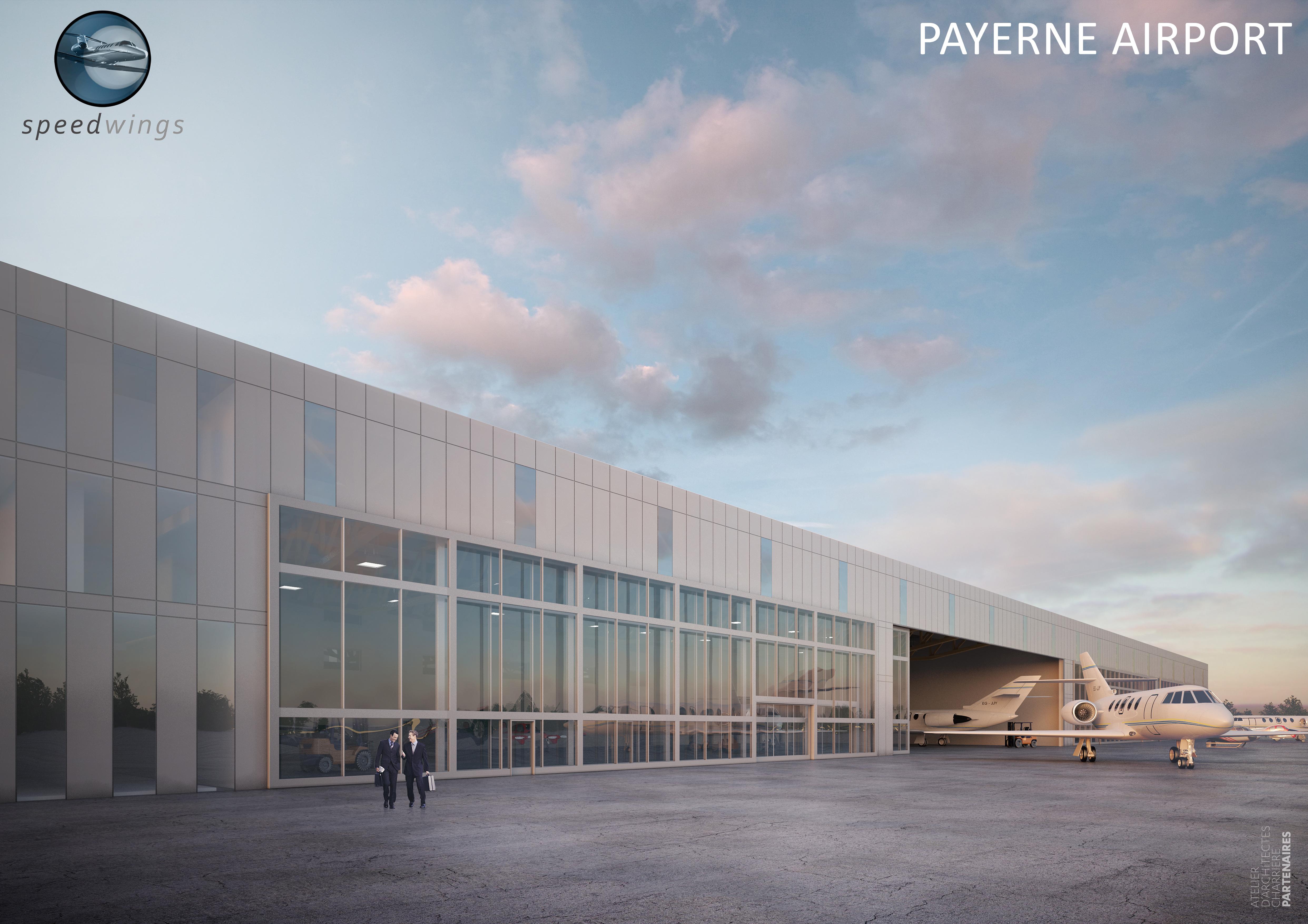 Acquisition d'un bâtiment à l'Aéropôle