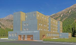 Erweiterung der Jugendherberge St. Moritz