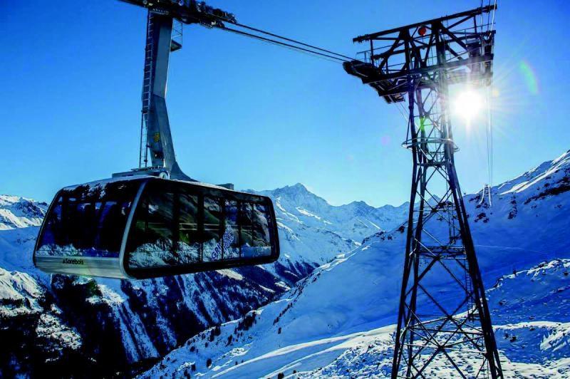 Nouvelle liaison des domaines skiables de Grimentz et de Zinal
