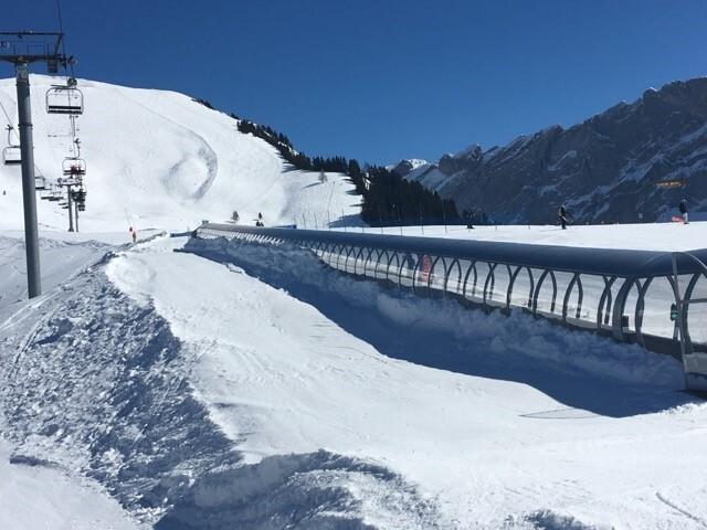 Tapis roulant pour skieurs de Chaux - Gryon