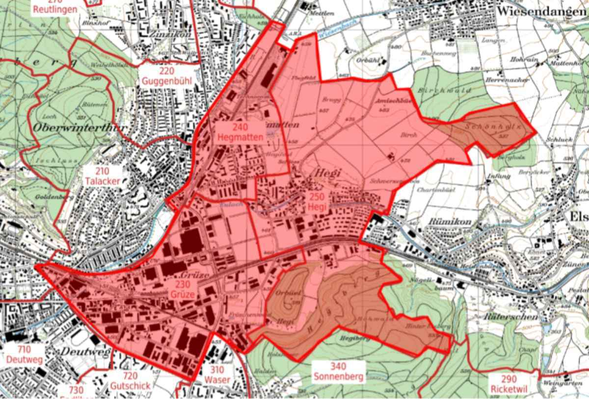 Oberwinterthur (ZH): Stadtentwicklungsgebiet Neuhegi digital vernetzen
