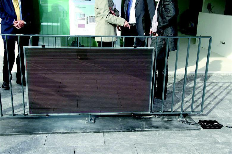 «Solar Rail» – Funktionelle Solarelemente: Solargeländer (NRP-Projekt von 2009 bis 2011)